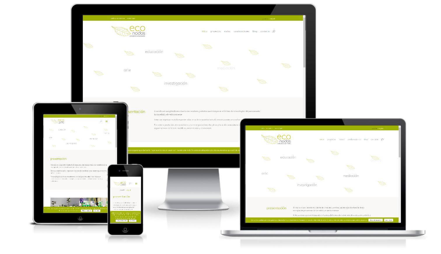 Sitio web Econodos